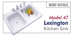 Thermocast Sinks - Lexington